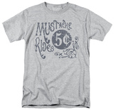 Mustache Rides T-shirts