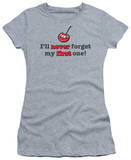 Women's: I'll Never Forget (Slim Fit) T-shirts