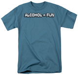 Alcohol Fun T-shirts
