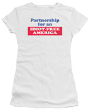 Juniors: Idiot Free America T-Shirt