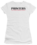 Juniors: Printers Do It T-shirts