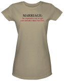 Juniors: Marriage T-Shirt