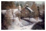 Spirit of Winter Prints by Esther Engelman