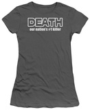 Juniors: Death T-Shirt