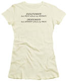 Juniors: Evolitionists Creationists T-shirts