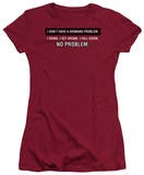 Juniors: Drinking Problem T-Shirt