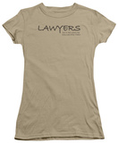 Juniors: Lawyers Do It As Long As You Can Pay T-Shirt