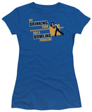Women's: My Drinking Team (Slim Fit) T-Shirt