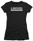 Juniors: Lawyers Do It By Law T-shirts