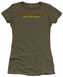 Women's: Deer Hunters Do It (Slim Fit) T-shirts