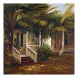 La Casa Sotto Le Palme Art by  Gilda