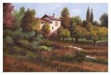 La Casa Nel Bosco Print by Guido Borelli
