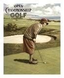 Open Championship Golf I Affiches par Kevin Walsh