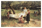 The Apple Gatherers Poster by Frederick Morgan