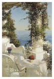 Positano Seascape Kunstdrucke von Vitali Bondarenko