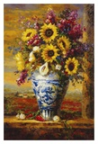 Tuscan Sunflowers Affiches