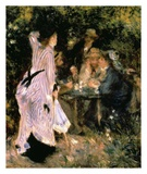 Au Jardin Du Moulin Prints by Pierre-Auguste Renoir