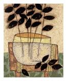 Leaf Vase I Print by Penny Feder
