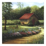 Garden Cottage Prints by Lene Alston Casey