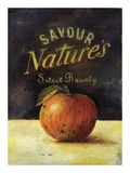 Savour Apple Poster by Scott Jessop