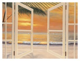 Doorway To Paradise Poster by Diane Romanello
