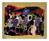Big Band Plakater af Leroy Campbell