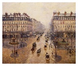 The Avenue De L'Opera Prints by Camille Pissarro