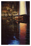 Lake Como Sunset Sail Prints by Brent Lynch