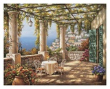 Morning Terrace I Prints by Sung Kim