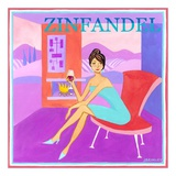 Zinfandel Poster by Jennifer Brinley
