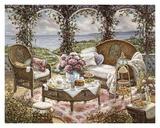 Nachmittagstee Kunstdrucke von Janet Kruskamp