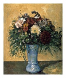 Bouquet of Flowers in a Vase Art by Paul Cézanne