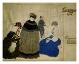 Secession, 1908 Prints by Leon Bakst