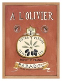 A L' Olivier Prints by Katharine Gracey