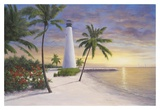 Lighthouse, Key Biscayne Art by Diane Romanello