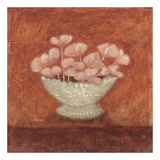 Tuscan Bowl With Flowers I Posters af Jennifer Carson