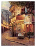 Night of Paris Print by Haixia Liu
