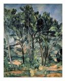 The Aqueduct at Montagne Sainte-Victoire Poster by Paul Cézanne