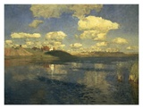 Lake Russia, 1900 Prints by Isaac Levitan