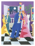 Ballroom Print by Robin Hall