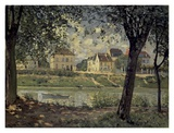 Louvecienne Prints by Alfred Sisley
