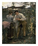 Rural Love Poster by Jules Bastien-Lepage
