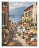 Village Steps Prints by Sung Kim