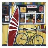 Surf Shack Print by Suzanne Etienne