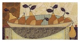 Bowl of Pears Prints by Penny Feder