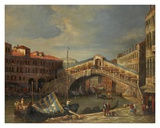 Venice Bridge Poster by  Stanley