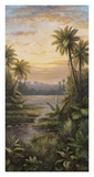 Tropical Lagoon II Print by Montoya 