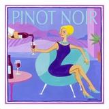 Pinot Noir Print by Jennifer Brinley