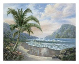 Ocean Paradise Prints by Carl Valente