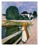 Edvard Munch - Dívky na molu, 1901 Plakát